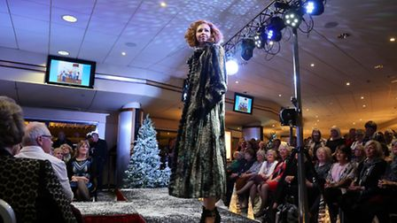 A dazzling display of clothing which was the Jillian Hart fashion show