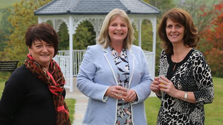 Lindsay Woodhouse, Rosemary Brown and Diane Brindley