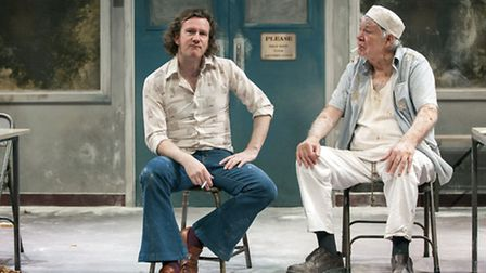 'TOAST' starring Matt Sutton and Matthew Kelly, on stage in Nottingham in April Photo: Oliver King