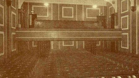 BEFORE THE FIRE - Derby Playhouse auditorium in the early 1950s