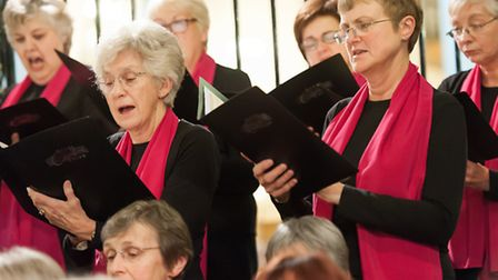 In concert at Derby Cathedral Photo Cactus Images Ltd