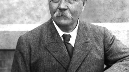 Sir Arthur Conan Doyle in more senior years - by now a firm believer in the spirit world and an active afterlife