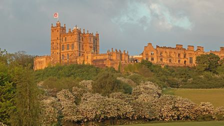 Bolsover Castle as it stands today, on the site of the medieval Castle from the 13th Century.