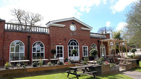 The simply styled Folly is licensed to host weddings, civil ceremonies and receptions