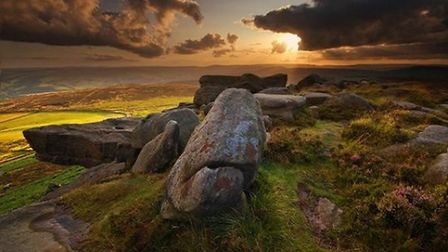 Summer Light on Stanage Edge by Andy Hemingway