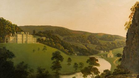 A View of Cromford Bridge, by Joseph Wright, c.1795-6, oil on canvas Photo: R Tailby/Derby Museums