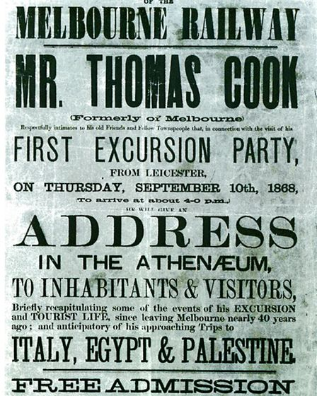 Return of a favourite son - Cook's visit for the opening of Melbourne Station in 1868
