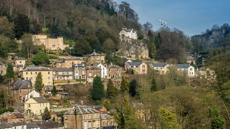 Darwin Lake is situated within easy reach of Matlock Bath Photo: Phil Sproson/philsprosonphotography.co.uk