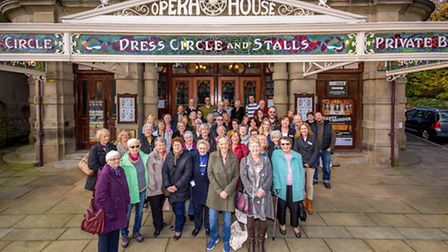 The local community came out in droves to vote for the High Peak theatre