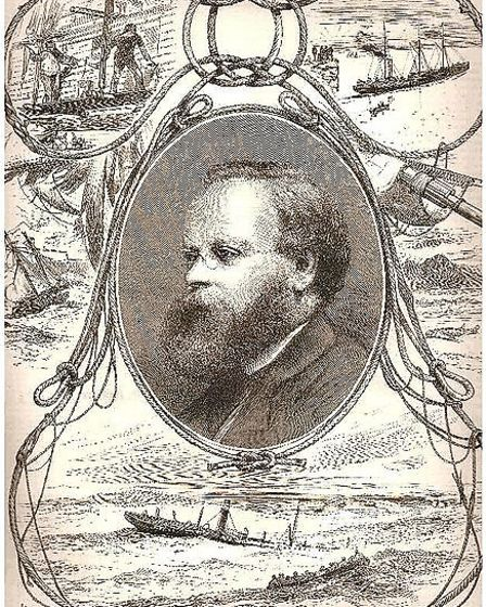 Liberal MP for Derby Samuel Plimsoll - one of a surprising number of maritime links to Derbyshire