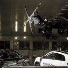 Justin performs a Rodeo Five Critical stunt for Mitsubishi Motors (Photo: Blue Bird Photography)