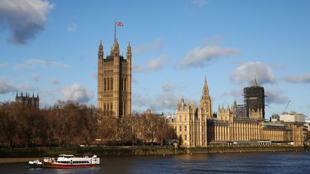 The Houses of Parliament in London after the general election. Photograph: Hollie Adams/PA Wire.