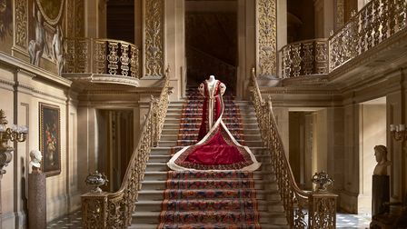 Mistress of the Robes coronation gown, worn by Duchess Evelyn at 1937 Coronation and Duchess Mary at 1953 Coronation...