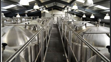 'The number of fermentation tanks has significantly increased'