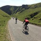 Glossop Kinder Velo Cycling Club tackling the Peak District roads