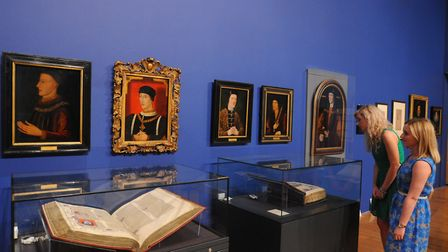 The exhibition includes some of the nation's most treasured artefacts and original works of art