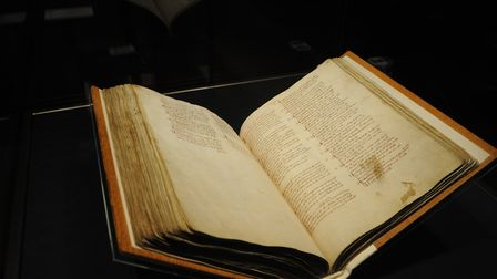 Domesday Book in Lincoln Castle