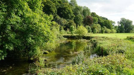 The River Lathkill - beautiful and tranquil
