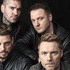 Boyzone, l to r: Keith, Shane, Mikey and Ronan