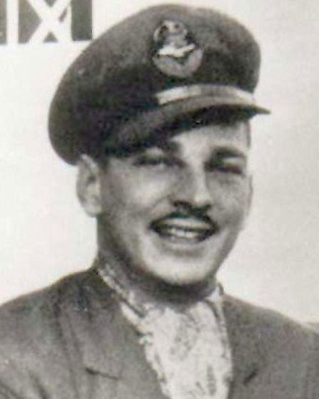 American airman Reade Tilley - in 1941 his crashed RAF Hurricane narrowly missed Repton Cross