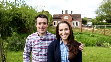 Martin and Nicole at home in South Derbyshire