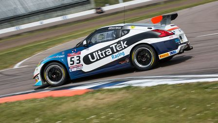 Martin on track in his Nissan 370Z GT4 car