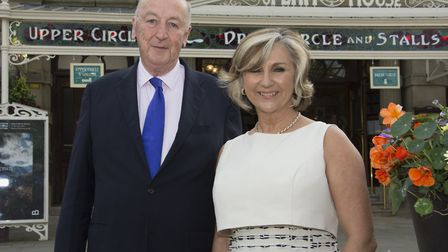 The Duke of Devonshire and Lesley Garret launching the 40th Anniversary Appeal