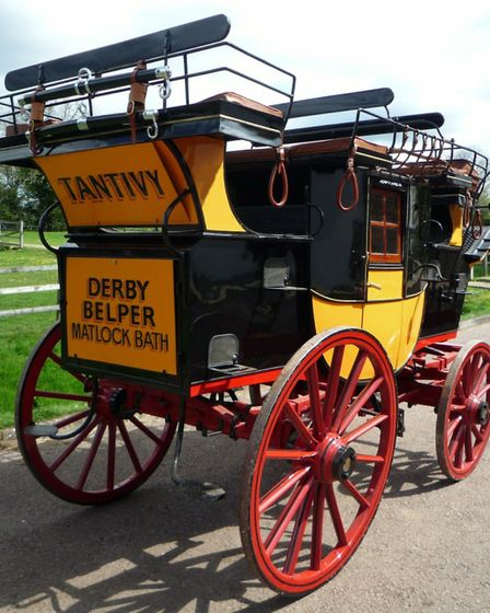 The 'Tantivy' as restored for its Derbyshire run this October Photo: Trevor Griffin