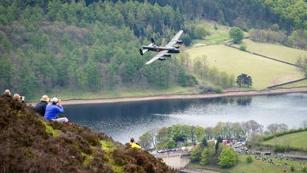Near to Derwent Reservoir, the neighbouring Derwent Edge provides a memorable vantage point on such occasions