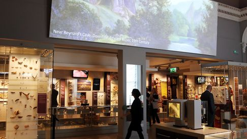 Gallery 1 houses the new Wonders of the Peak exhibition