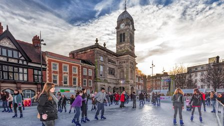 Derby Cathedral Quarter Ice Rink