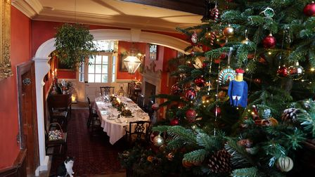 Casterne Hall has seen many family Christmases over the decades
