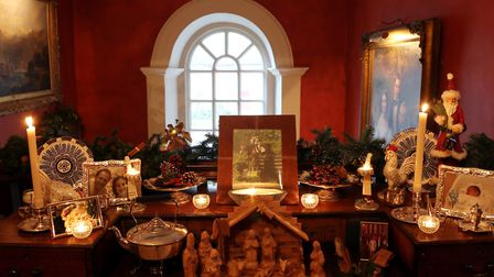One of many candlelit displays guaranteed to delight visitors