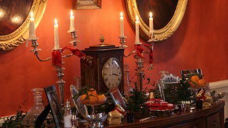 Casterne wouldn't be the same without candles at Christmas