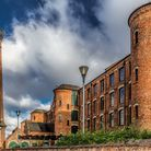 The former Springfield Mill in Sandiacre, built in 1888 as a lace factory, now converted into residential units.