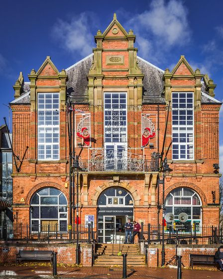 The Flemish architecture of Ripley Town Hall