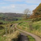Down the tranquil lane with sweeping views of the countryside