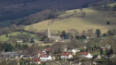 The view across Hathersage