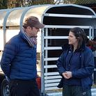 Scarsdale Vets' Fay Pooley and Matt Baker from BBC Countryfile Photo: Scarsdale Vets