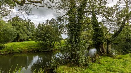 The River Dove near Norbury by Ashley Franklin
