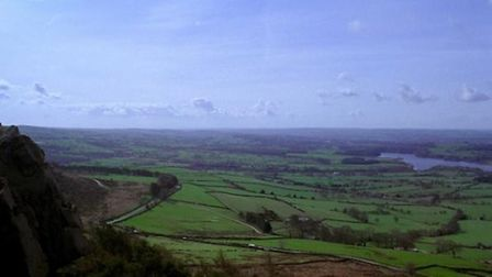 View from The Roaches by Ken Cox