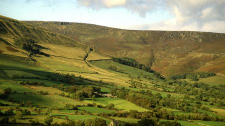 Kinder Scout from Upper Holt Photo: Gary Wallis