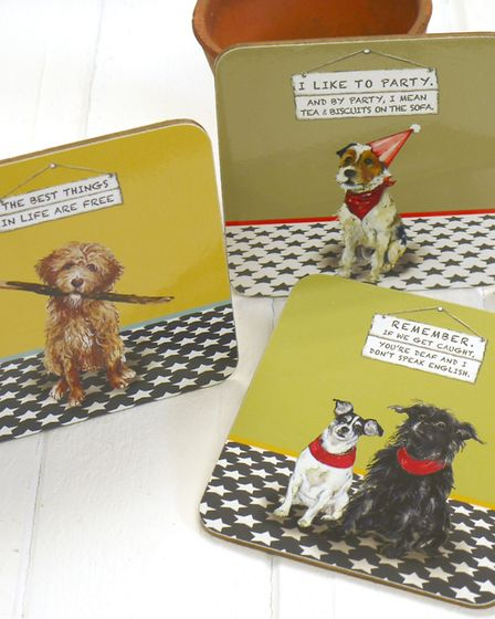 Coasters designed for the RSPCA
