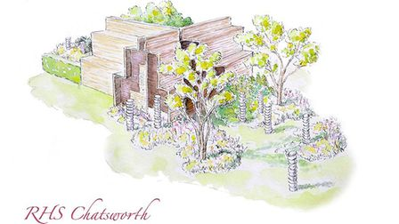 Paul Hervey-Brookes's Brewin Dolphin garden for RHS Chatsworth