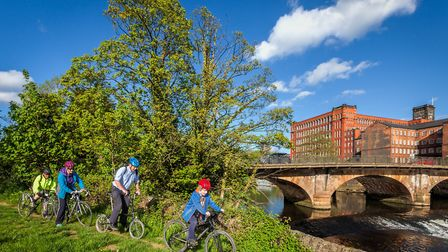 A campaign is well under way to establish the Derwent Valley Cycleway which would come through Belper