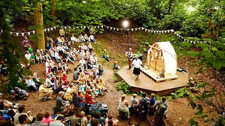 The Timber Festival will include many outdoor performances in the woods. Photo by teneight.