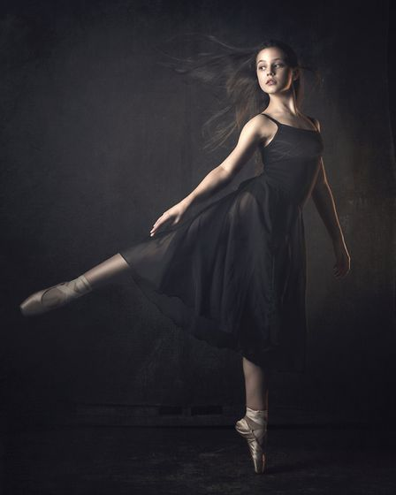Ballet dancer by Simon Mackney