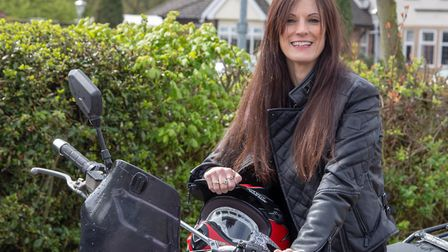 Helen Smith loves dazzling jewels as much as she loves motorbikes