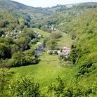 The view of the Wye Valley from Monsal Head
