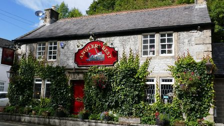 The Anglers Rest in Millers Dale